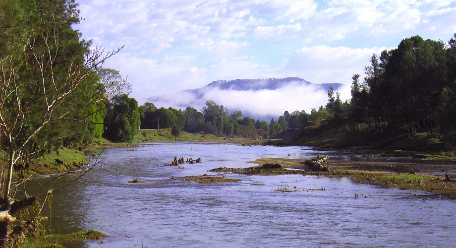 Kenilworth Bluff from the Mary River